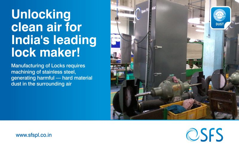 Dust-Unlocking-clean-air- dust collector system
