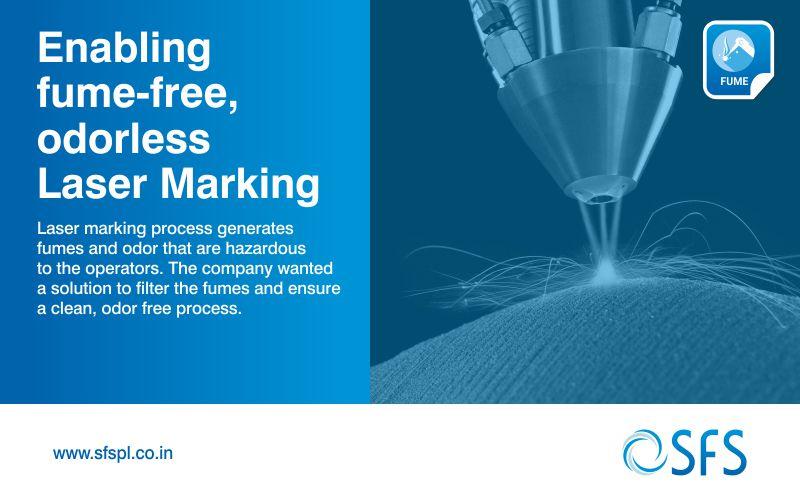 Fume-Enabling-fume-free-odorless-Laser-Marking fume extractor