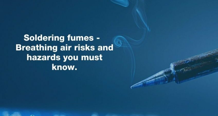 What are you doing to prevent soldering fumes from slowly draining your employees' health